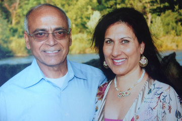 Asha and Kamal  Chhabra